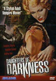 Daughters of Darkness (1971) Art for the DVD cover.