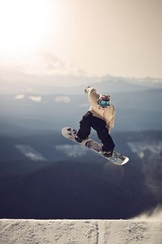 Cannot wait to get back on the slopes. Sometime soon I hope!