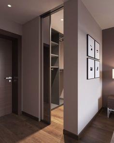 Sliding mirror can be - - Wardrobe Design Bedroom, Bedroom Closet Design, Bedroom Wardrobe, Room Ideas Bedroom, Home Room Design, Closet Designs, Home Bedroom, Home Interior Design, House Design