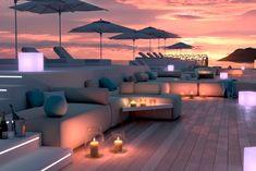 Reforma integral para la transformación de 3 a 5 estrellas del  Hotel Presidente de Ibiza.  Ejemplo de arquitectura saludable en hoteles. Ibiza, Outdoor Sectional, Sectional Sofa, Outdoor Furniture, Outdoor Decor, Opera House, Building, Home Decor, Hotels