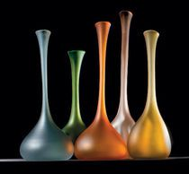 contemporary Murano glass vase TAMARINDO FORMIA-VIVARINI
