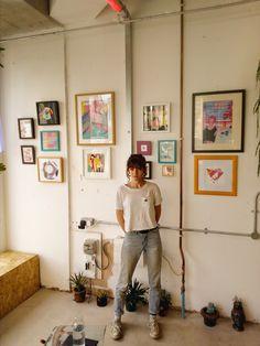 FILOMENA X GLITCH / Glitch Bristol Solo Exhibition Collage Design, Vaporwave, Glitch, Bristol, Gallery Wall, Paper, Frame, Handmade, Home Decor