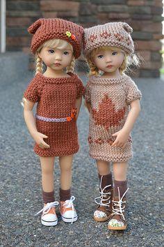 Crochet Doll Clothes, Knitted Dolls, Childrens Dolls, Diana, Knit Crochet, Crochet Hats, Nutcracker Christmas, Vinyl Dolls, Cardigan Pattern