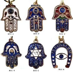 Hamsa Hand Lucky Amulets  found on Lucky Mojo Curio Co.