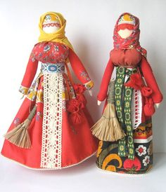 Bohemian Peasant Doll - free pattern