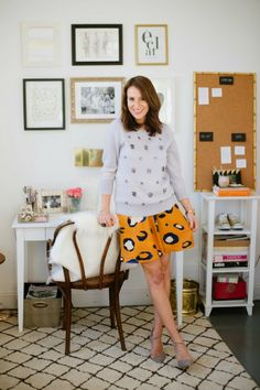 Style At Home: Caitlin Moran Of Glitter Guide