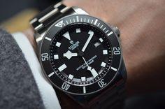 The Tudor Pelagos: A Titanium Dive Watch From The Rolex Family / 42mm