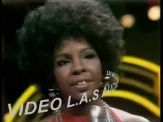 Gladys Knight  The Pips   For Once in my Life 1973  Video L A S HQ   Stereo