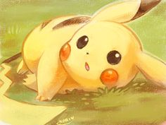 Want to discover art related to pikachu? Check out inspiring examples of pikachu artwork on DeviantArt, and get inspired by our community of talented artists. Pikachu Pikachu, Pikachu Evolution, Pokemon Pictures, Digimon, Cute Drawings, Cute Wallpapers, Anime Art, Fan Art, Grass