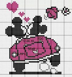 Embroidery Patterns Tree Disney Cross Stitch Super Ideas b Wedding Cross Stitch, Cross Stitch Love, Beaded Cross Stitch, Cross Stitch Kits, Cross Stitch Charts, Cross Stitch Embroidery, Embroidery Patterns, Hand Embroidery, Disney Cross Stitch Patterns