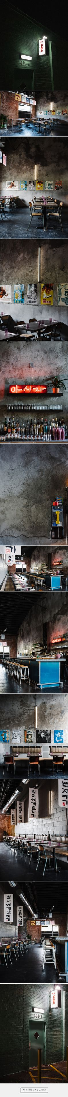 Gaja Restaurant Branding & Interior Design - Grits + Grids - created via https://pinthemall.net