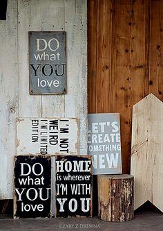 .Placas de madeira.