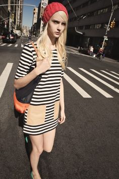 Haley Dress, Janis Hat, Laura Tote #womenswear