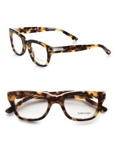 Tom Ford Eyewear - Modern Cat's-Eye Plastic Eyeglasses - Saks.com