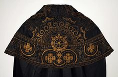 """travellinganachronism: """" Cape. 1912, French. House of Worth. Source: Met…"""