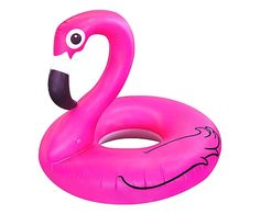Pronti per i bagni in piscina? Attrezzatevi di Materassino gonfiabile da piscina Pink Flamingo!