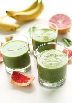Yummy Smoothie Recipes With Spinach. 50 Smoothies : Recipes And Cooking : Food Network . 25 Tasty Smoothie Recipes Over The Big Moon. Home and Family Best Spinach Smoothie Recipe, Tropical Smoothie Recipes, Yummy Smoothie Recipes, Weight Loss Smoothie Recipes, Weight Loss Meals, Nutribullet Recipes, Smoothie Legume, Smoothie Fruit, Best Green Smoothie