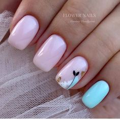 amazing nail designs ideas for short nails to try page 31 ~ my. - amazing nail designs ideas for short nails to try page 31 ~ my. Stylish Nails, Trendy Nails, Perfect Nails, Gorgeous Nails, Cute Acrylic Nails, Cute Nails, Pink Nails, My Nails, Feather Nails