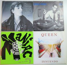 Online veilinghuis Catawiki: Mixed lot of eighty (80) ROCK & POP 7inch singles * Queen, Madonna, Roxy Music, Jean Michel Jarre, Zucchero, Roxy Music, Marillion and many more! *