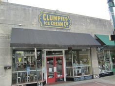 Clumpies Ice Cream, Chattanooga TN   Marie, Let's Eat! Must have ice cream at clumpie's on my wedding day!!