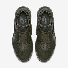 finest selection fdaa4 aa021 Chaussure Nike Air Huarache Pas Cher Femme et Homme Kaki Cargo Kaki Cargo  Noir