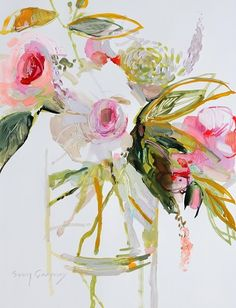 Flora 8 by Erin Gregory ... I'm in love with all of her work!! Must get to a gallery stat!
