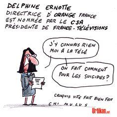 France Télévision passe à l'Orange - Dessin du jour - Urtikan.net