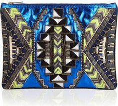 Matthew Williamson embellished clutch