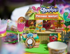 "Shopkins / Birthday ""Alexis shop til you drop "" 