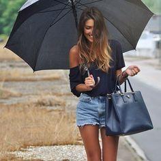 la lluvia y yo..amigas..