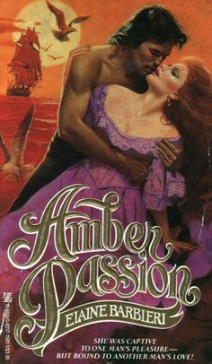 Amber Passion by Elaine Barbieri.  Published by Zebra Books in 1985.