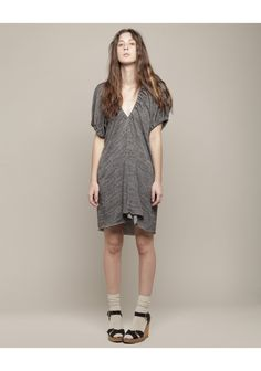 Jersey rouched vnk dress