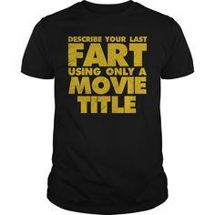 Fart movie title - Tshirt