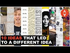 Ten Ideas That led to a Different Idea | The Art Assignment | PBS (Visual culture meets the Classroom) Digital Studios - YouTube