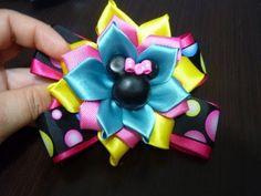 Como Hacer Lazos/Flor de Listón Raso Gros Tutorial/,D.I.Y. Handmade Satin Rose,/Diy #108 - YouTube
