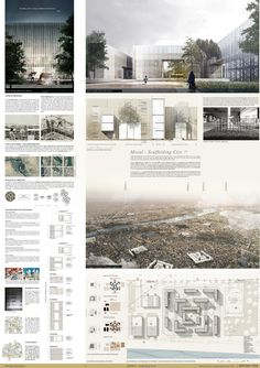 9 awesome architectural presentation boards layout images