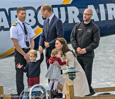 William, Catherine, George and Charlotte in Canada on Royal Tour, 2016