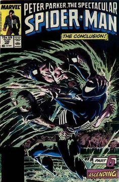 Peter Park Spectacular Spider-Man #132 Kraven's Last Hunt Pt 6