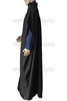Professor Severus Snape Cosplay Cloak coat shirt from Harry Potter Free Shipping Custom Made