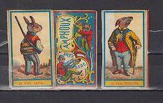 old matchbox label French AG12 Rabbit Dog | eBay