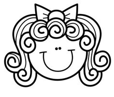Coloring Book Pages, Coloring Sheets, Body Parts For Kids, Easy Christmas Drawings, Birthday Calender, Clipart Black And White, Dibujos Cute, Drawing Techniques, Drawing For Kids