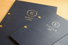 Bespoke Menu Design - Ritz Carlton