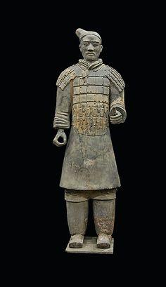 Armored Infantryman | China | Qin dynasty (221–206 B.C.) | The Met