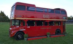 1967 London Routemaster Bus Mobile Bar Catering Van