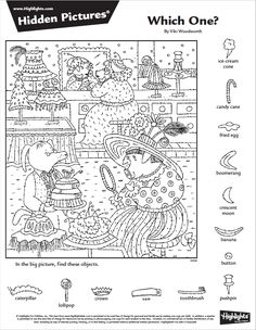Hidden Object Puzzles, Hidden Picture Puzzles, Hidden Objects, Rainy Day Activities, Stem Activities, Colorful Pictures, Pretty Pictures, Hidden Pictures Printables, Coloring Books