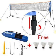 SoBuy Hight Adjustable Mini Tennis Nets, Badminton Net with stand / frame, Fastening Devices Includes, 400cm,SFN02 SoBuy http://www.amazon.co.uk/dp/B0090WBFLW/ref=cm_sw_r_pi_dp_B6RAvb15XKNJ0