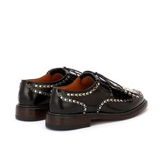 Roeloc Studded Derby Shoe Spectator Shoes, Derby Shoes, Goodyear Welt, Embellished Dress, Brogues, Shoes Online, Studs, Latest Trends, Oxford Shoes
