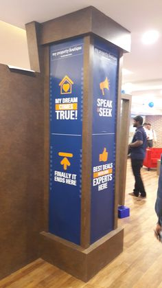 Branding for  MyPropertyBoutique's new project launch held at Spencer Plaza