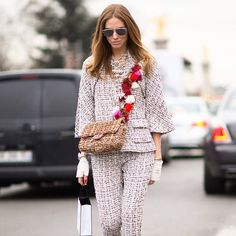 #ChiaraFerragni Chiara Ferragni: In all Chanel Cruise collection for @chanelofficial Haute Couture show ✌️ Pic by @timuremek_photography #TheBlondeSaladGoesToParis #TheBlondSaladGoesToHauteCouture