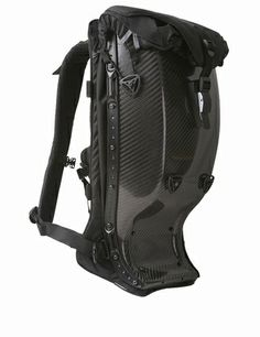 Always wanted one of these, but this one is in real carbon fiber Motorcycle Style, Motorcycle Outfit, Motocross, Motorcycle Backpacks, Backpack Bags, Puppy Backpack, Hiking Backpack, Biker Gear, Bike Bag
